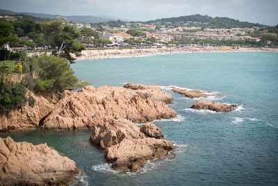 Дуплекс на первой линии моря в закрытом комплексе в Sant Feliu de Guixols